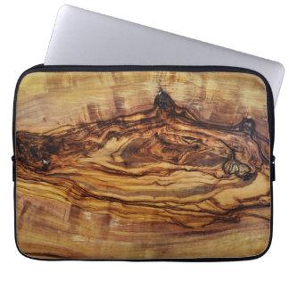 olive tree wood texture pattern nature plant ribs laptop sleeve