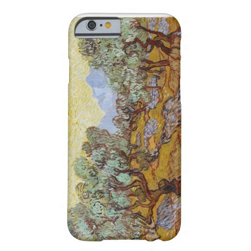 Olive Trees, 1889 (oil on canvas) iPhone 6 Case