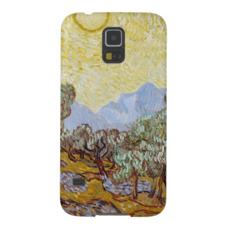Olive Trees 1889 oil on canvas Galaxy S5 Covers