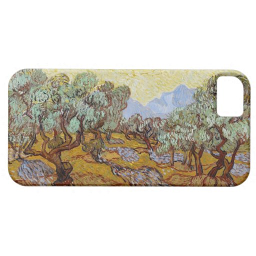 Olive Trees, 1889 (oil on canvas) iPhone 5 Case