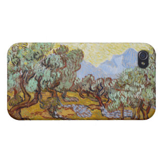 Olive Trees, 1889 (oil on canvas) Cover For iPhone 4