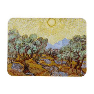 Olive Trees, 1889 (oil on canvas) Vinyl Magnets