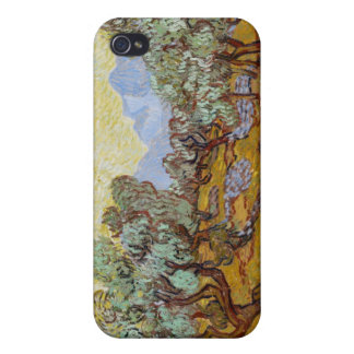 Olive Trees 1889 oil on canvas iPhone 4/4S Cases