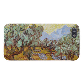 Olive Trees, 1889 (oil on canvas) iPhone 5/5S Case
