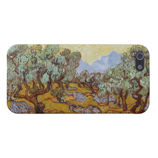 Olive Trees, 1889 (oil on canvas) iPhone 5/5S Cases