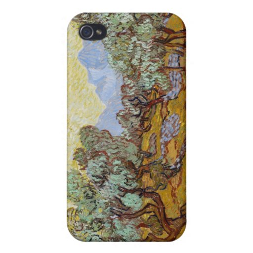 Olive Trees, 1889 (oil on canvas) iPhone 4/4S Cases