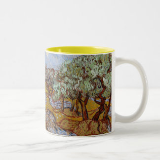 Olive Trees, 1889 (oil on canvas) Coffee Mugs