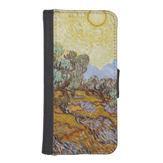 Olive Trees, 1889 (oil on canvas) iPhone 5 Wallet Case