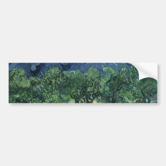 Olive Trees by Van Gogh Bumper Sticker