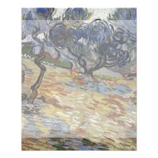 Olive Trees by Vincent Van Gogh 11.5 Cm X 14 Cm Flyer