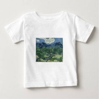 Olive Trees with the Alpilles in the Background Baby T-Shirt