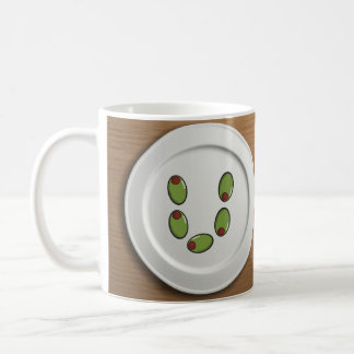 Olive u basic white mug