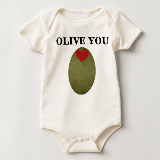 Olive You Baby Creeper