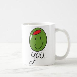 Olive You. Coffee Mug