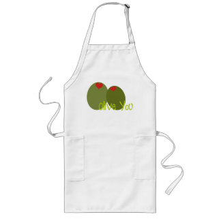 Olive You Long Apron