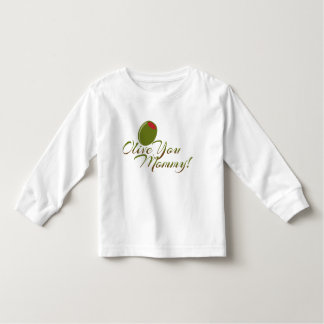 """Olive You Mommy"" Cute Baby bodysuit"