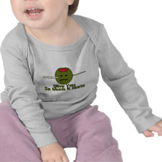 Olive You So Much Shirt