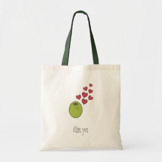 """Olive You"" Tote Bag"