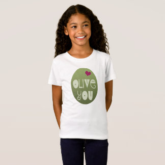 Olive You Valentine's Day Love Shirt