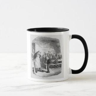 Oliver asking for more mug