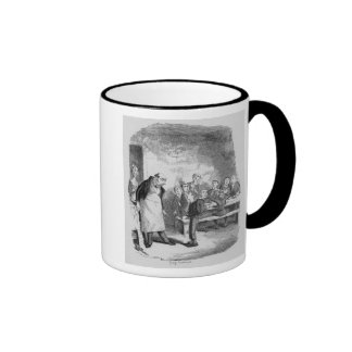 Oliver asking for more ringer mug
