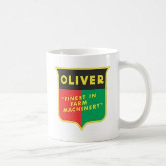 Oliver Basic White Mug