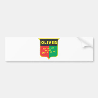 Oliver Bumper Sticker