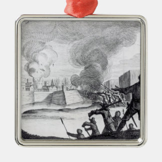 Oliver Cromwell Besieges the Drogheda in 1649-50 Christmas Ornament