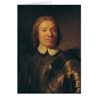 Oliver Cromwell Card