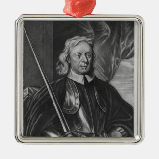 Oliver Cromwell  illustration Christmas Ornament