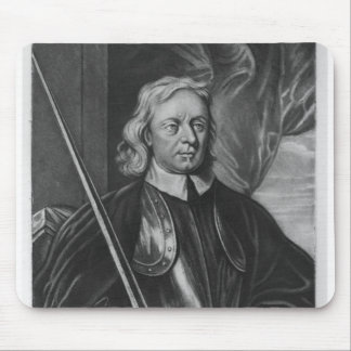 Oliver Cromwell  illustration Mouse Mat