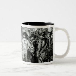 Oliver Cromwell Two-Tone Coffee Mug