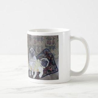 Oliver & Dodger Pugs Mug