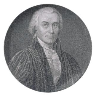 Oliver Ellsworth, engraved by E. Mackenzie (engrav Plate