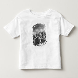 Oliver escapes being bound apprentice toddler T-Shirt