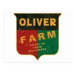 Oliver Farming Postcard