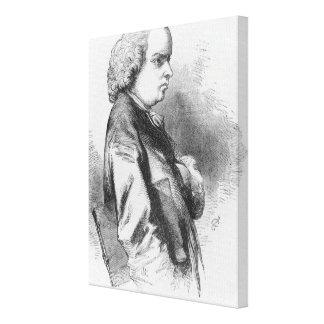 Oliver Goldsmith Stretched Canvas Prints