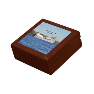 Oliver L. Moore & Menominee keepsake box