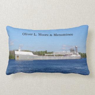 Oliver L. Moore & Menominee lumbar pillow