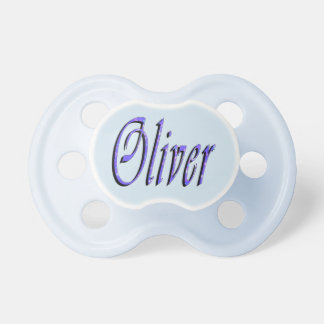 Oliver, Name, Logo, Baby's 0-6-months Pacifier