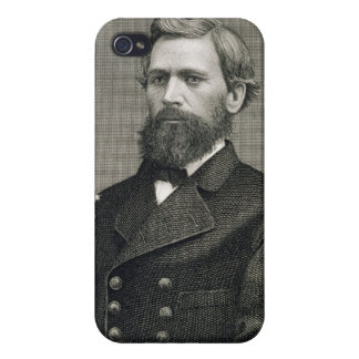 Oliver Otis Howard (1830-1909), engraved by Robert iPhone 4 Cover