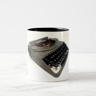 Oliver portable typewriter Two-Tone mug