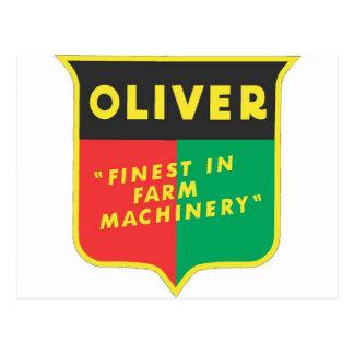 Oliver Postcard
