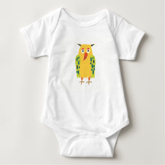 Oliver the Owl Baby Bodysuit