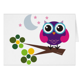 oliver the owl cards