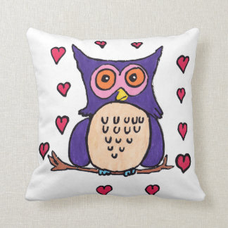 Oliver The Owl Cushion
