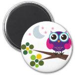 Oliver the Owl Customisable Fridge Magnets