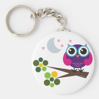 oliver, the owl key ring