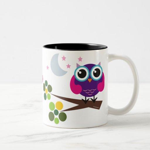 oliver, the owl mug