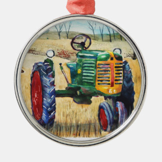 Oliver Tractor Christmas Ornament